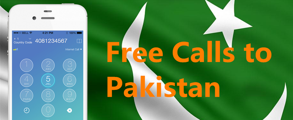 Free Call to Pakistan